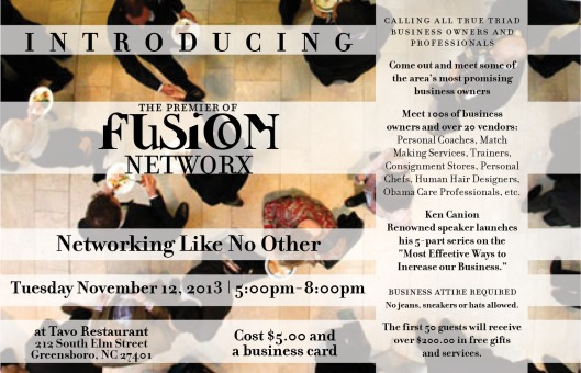 Networking fLYER 11-12-13