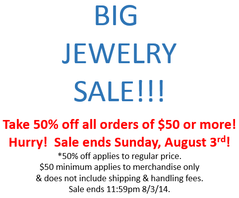 BIG JEWELRY SALE
