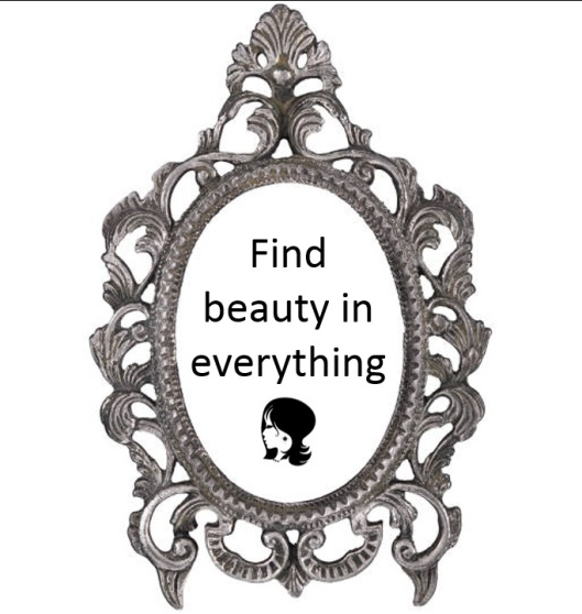 find beauty in everything
