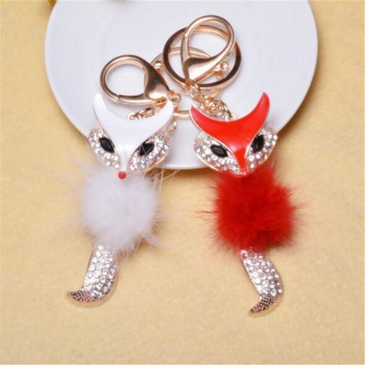 fox keychains 1