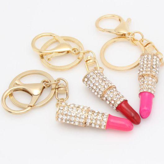 lipstick keychains