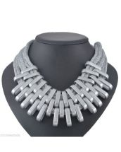 silver-mesh-necklace